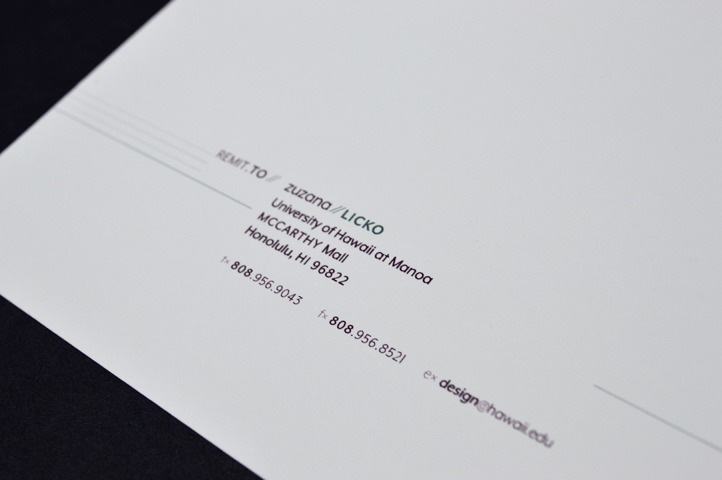 Designer Identity – Zuzana Licko | Trevor Manu